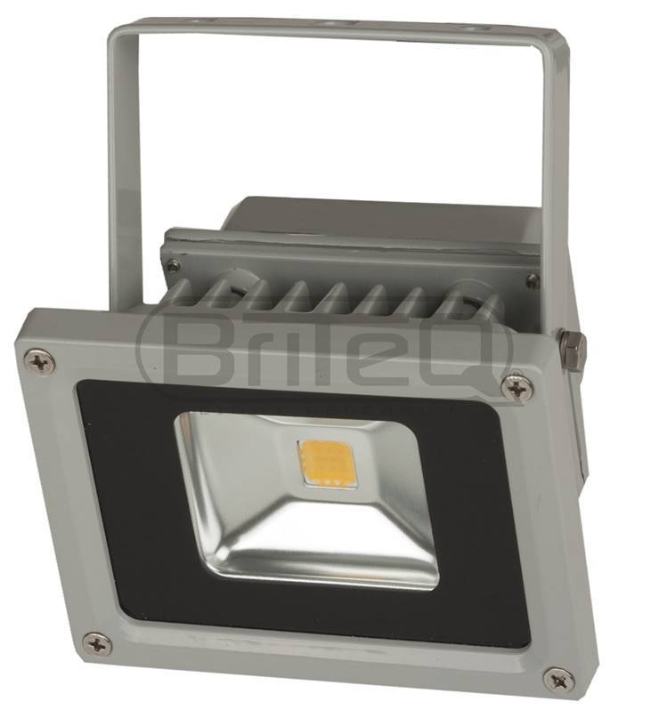 BRITEQ LDP-FLOOD10-WW Projecteur Led étanche IP65 - Blanc chaud 10W WW