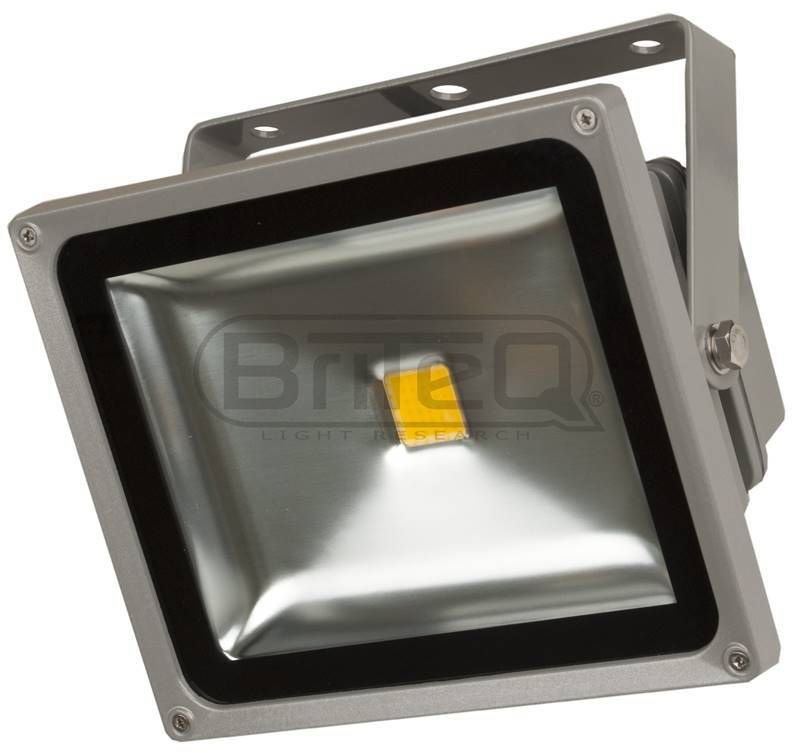 BRITEQ LDP-FLOOD30-WW Projecteur Led étanche IP65 - Blanc chaud 30W WW