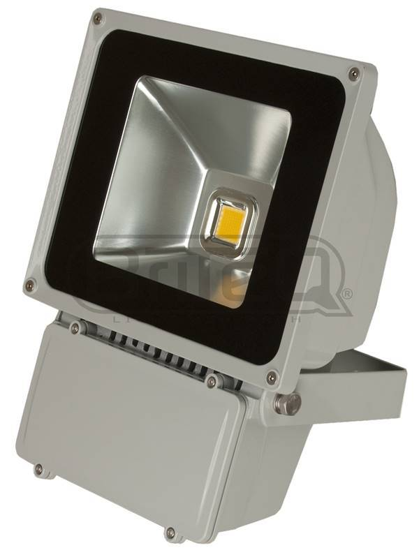 BRITEQ LDP-FLOOD80-WW Projecteur Led étanche IP65 - Blanc chaud 80W WW