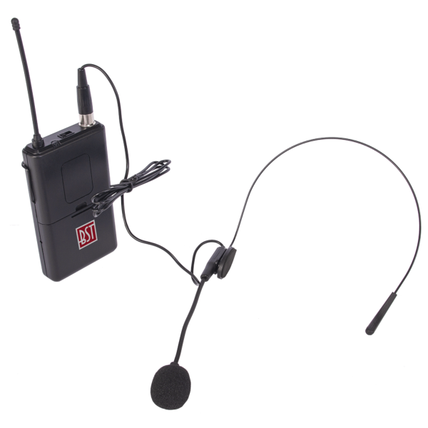 BST IPS10HEAD-B kit micro casque 864.65MHZ pour sono portable IPS10-250
